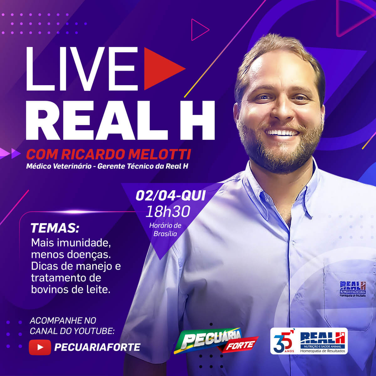 Primeira Live Real H